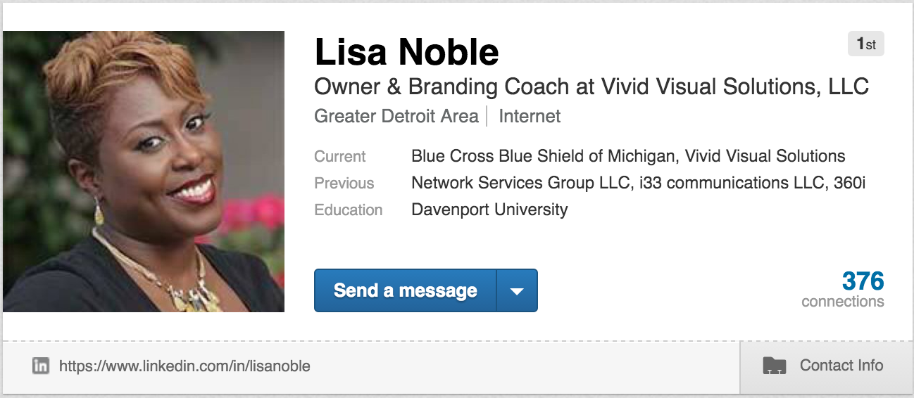Good Linkedin Profile