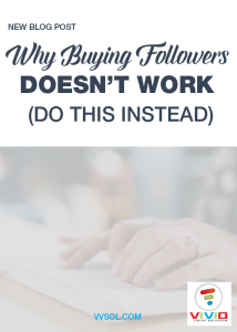 Why buying followers doesn't work