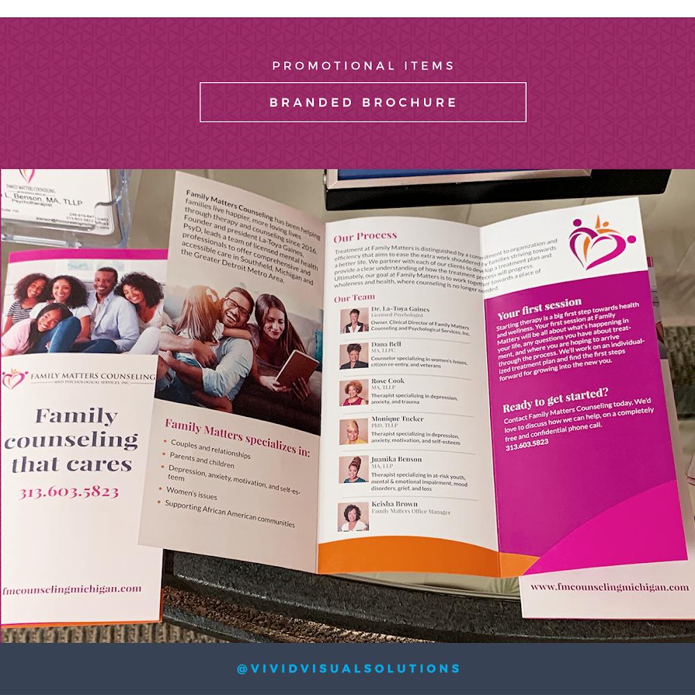 Branded brochures