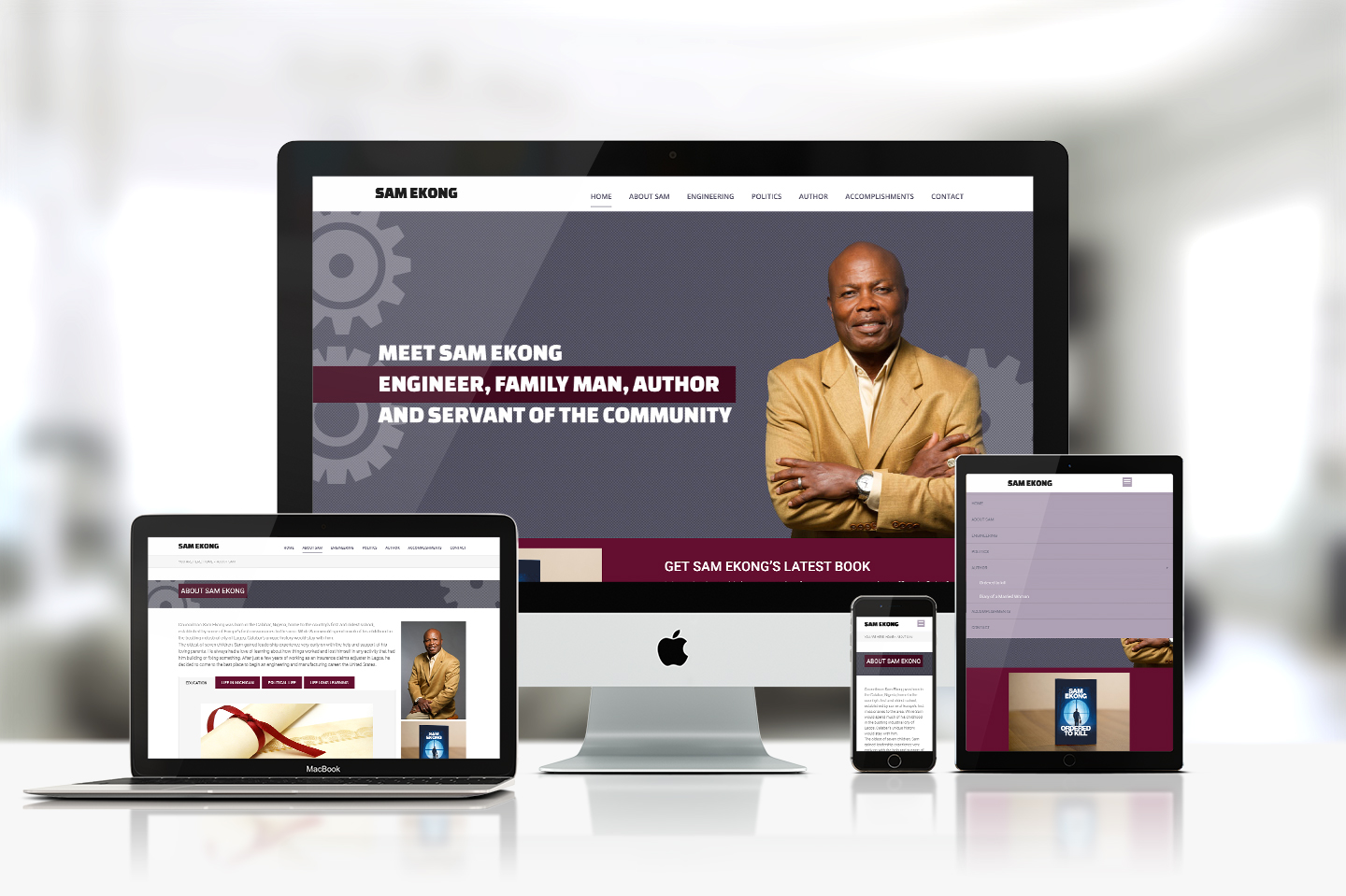 Sam Ekong - Website Design