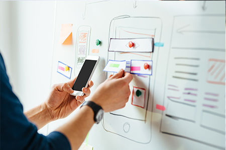 Wireframing - Web design planning