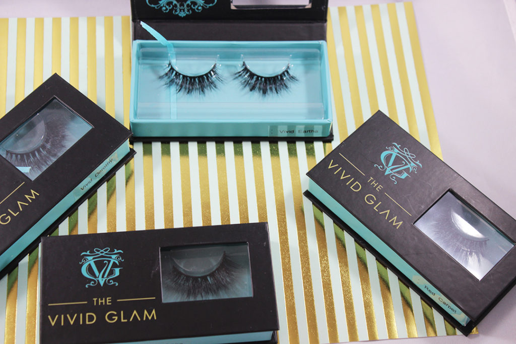 Vivid Glam packaging
