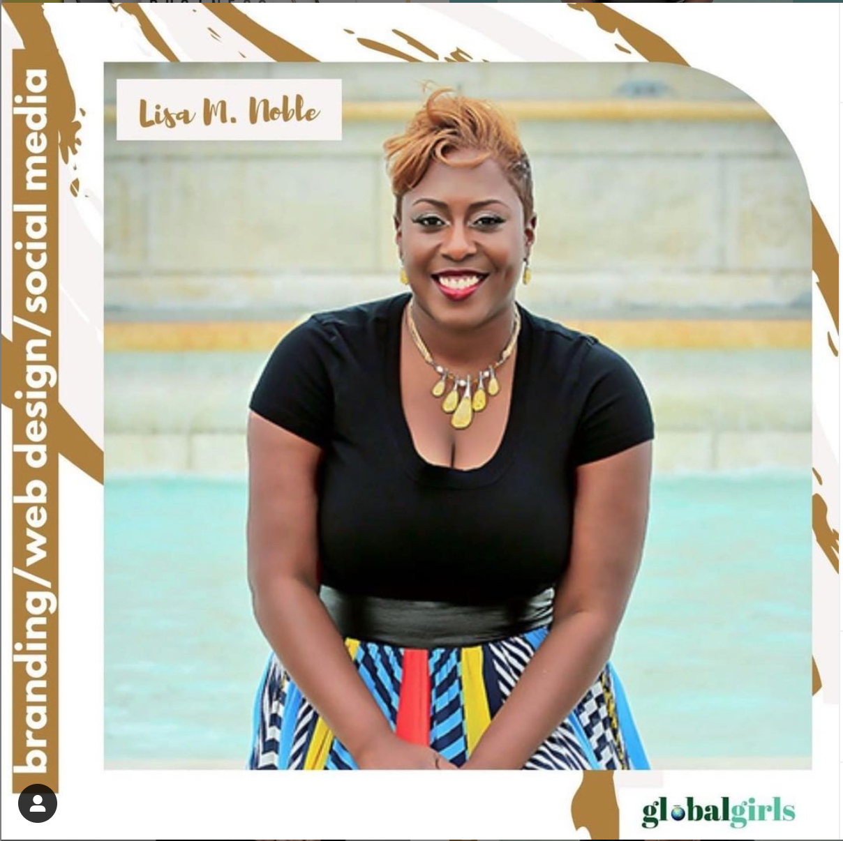 Lisa Noble featured on the Global Girls Podcast